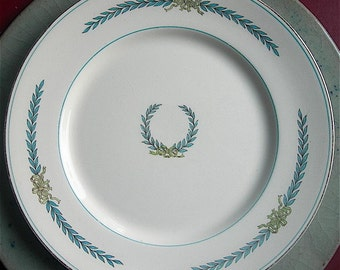 Myott Athens English China Luncheon Salad Plate