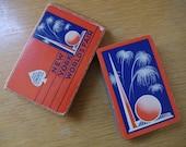Vintage 1939 New York World's Fair Souvenir Deck of Playing Cards