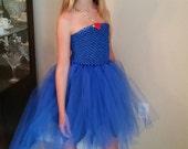 Disney Descendants Evie Inspired Single Layer Tutu Costume
