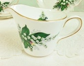 "Creamer / Milk Jug ""Lily of the Valley"" Royal Imperial"