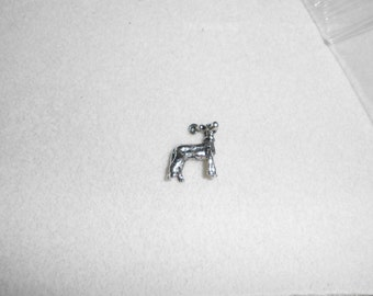 Silver Hound Charms