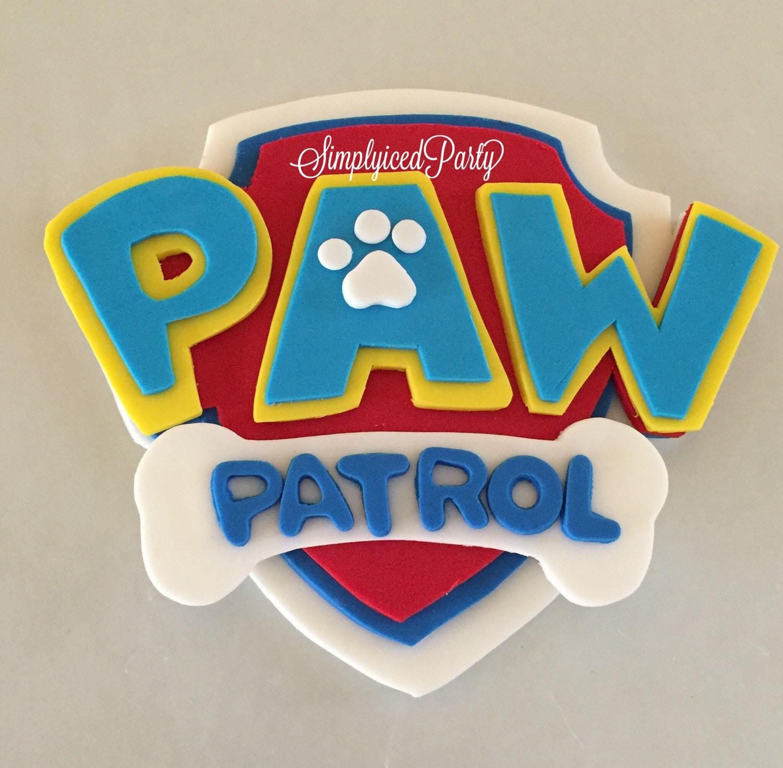 paw patrol fondant cakes