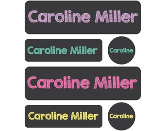 Daycare Labels - Daycare Pack - Set of 60 Labels - Baby bottle labels, Dishwasher safe - Pre-made Design