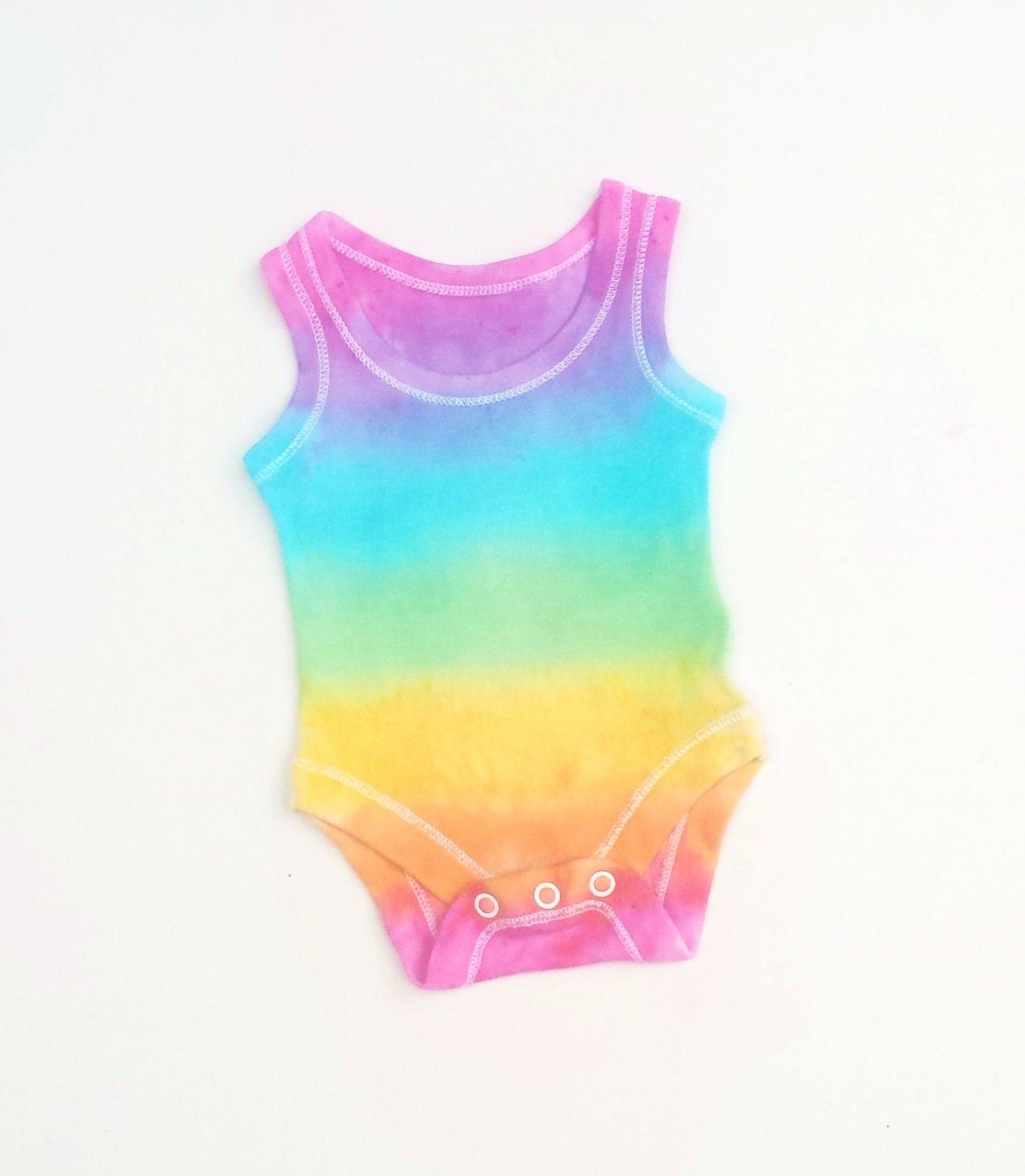 Baby Gifts For Hippie Parents : Rainbow baby tie dye vest bodysuit all sizes gifts hippie