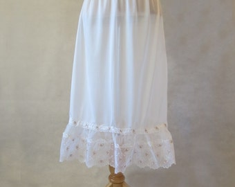 Half Slip With Butterfly Trim - 1950s