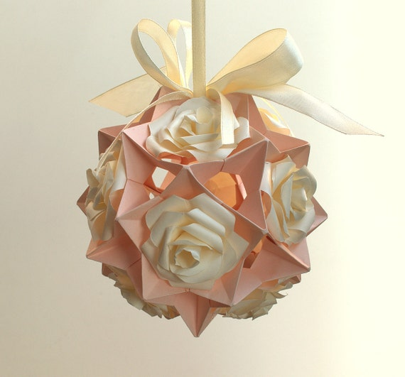 Origami kusudama kugeln origami christbaumkugel von - Christbaumkugel englisch ...