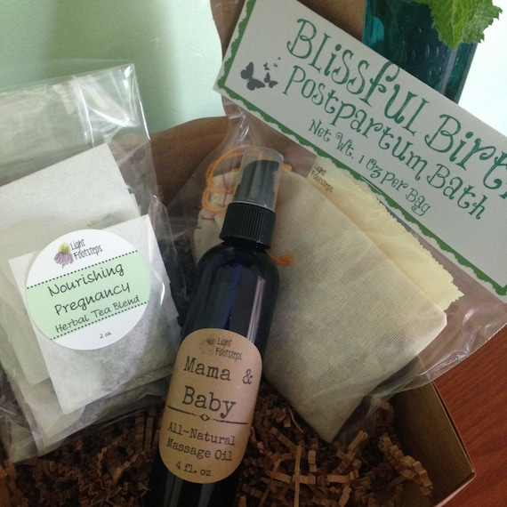 New Mama Mix - Gift Box - for Pregnant Natural Mamas!
