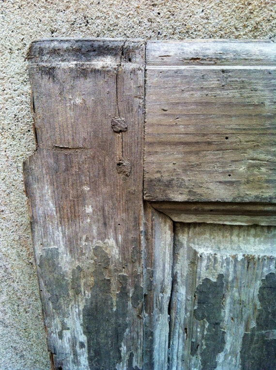 Antique architectural salvage distressed by modernarchaeology1 for Old wood doors salvaged