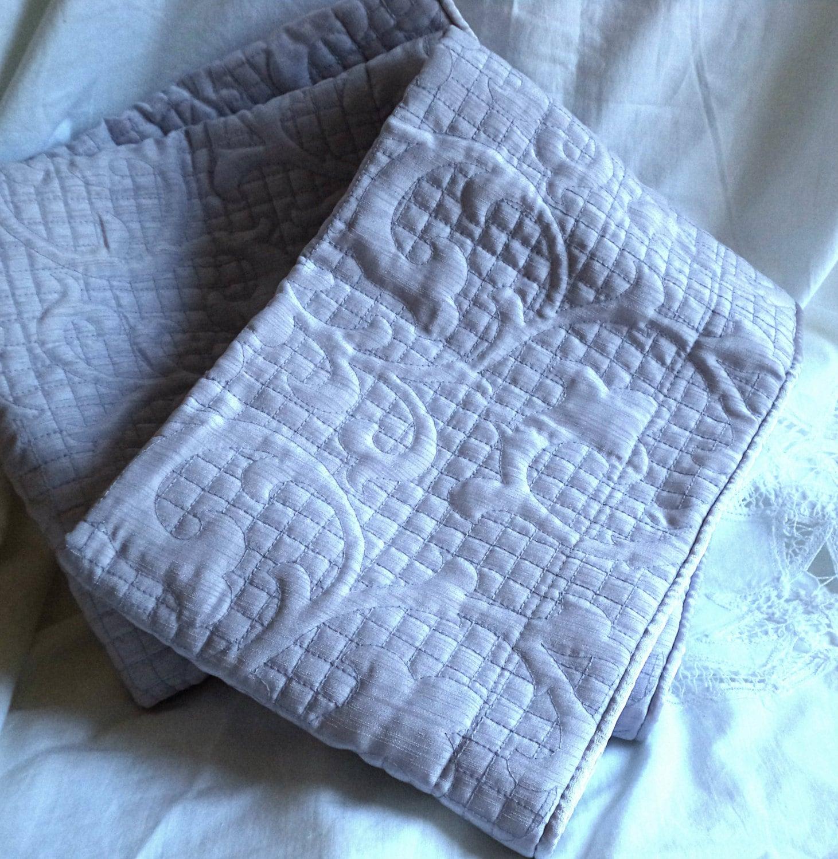 PAIR 40 x 25 Pillow Shams Throw Pillow Cover Muted