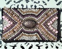 Hammered Metal Charm Birth Control Case - Birth Control - Pill Case - Case -Beaded Case - Charm Case - Pretty Case - Pastel Case