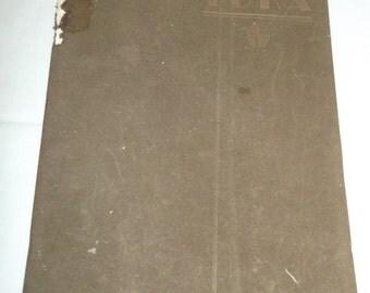 Grants Pass Oregon High School Yearbook 1933 Toka