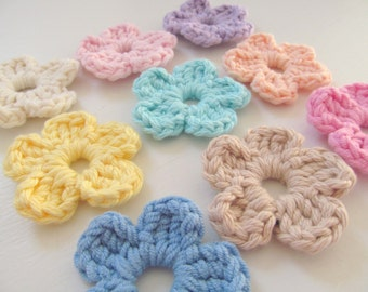 Extra Flowers for Interchangeable Flower Hat, Additional Flowers for Baby Hats with Interchangeable Flowers