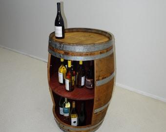 Wine Barrel Rack, Storage Handmade