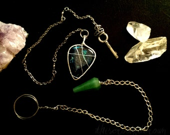 Pendulum Divination Reading - Excellent for yes or no answers. Intuitive psychic oracle.