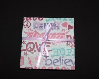 Dream & Believe Photo Accordion