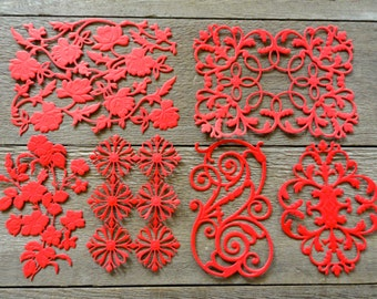 """Anna Griffin Variety Die Cut Set of 6 """"Available in 17 colors!!"""" Mix and Match too"""