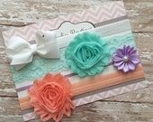 Baby headband set, baby headband, bows, baby headbands and bows, baby, headband set, baby