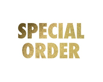 Special Order for Amanda