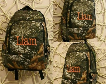 CAMO Backpack with Embroidery