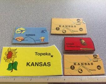 Lot #7 KANSAS 5 puzzle pieces