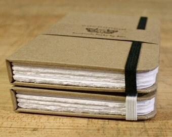 Brown Paper Cover, Drawing Vellum, Handmade Journal/Sketchbook/Notebook