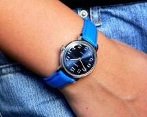 Zaria Zarija Russian watch  womens Mechanical watch  70's ladies watch soviet watch Slava zaria