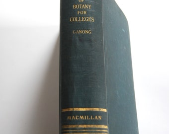 Vintage Book, A Textbook of Botany for Colleges
