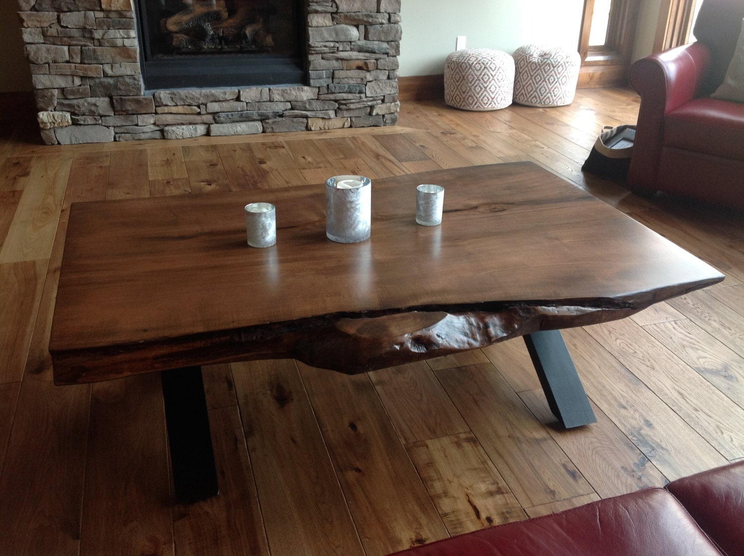 Toronto Live Edge Coffee Table Bar