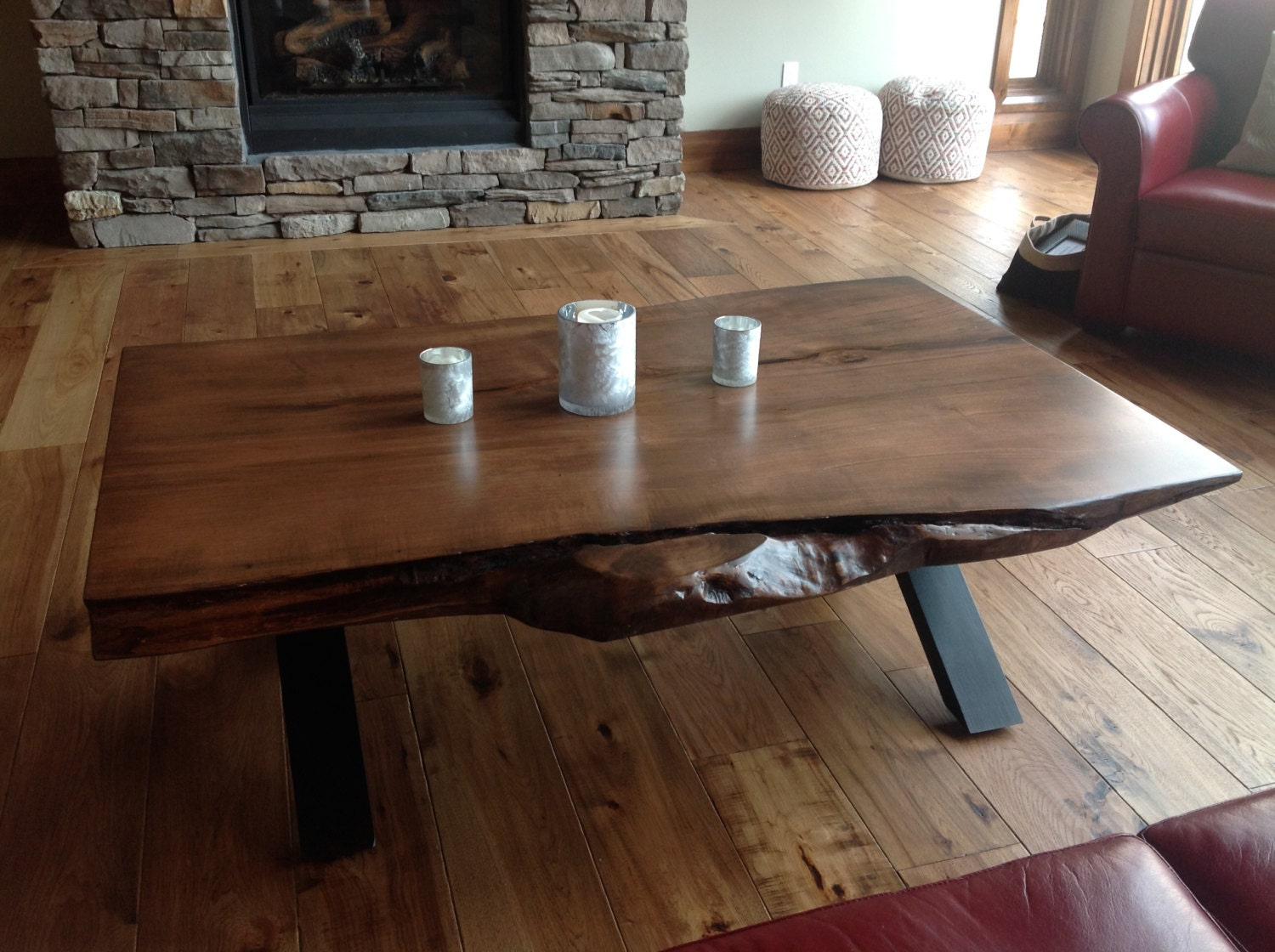 Toronto Live Edge Coffee Table Live Edge Bar Live Edge