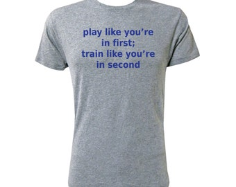 Play Like You're in First - NLA Premium Heather