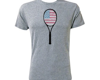 American Flag Racket - NLA Premium Heather