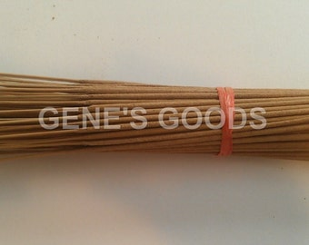 """1000 Unscented Uncolored Bamboo Resin Incense Sticks 11"""" Inches"""
