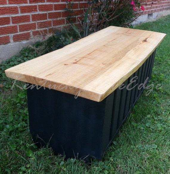 Items Similar To Modern Coffee Table- Storage Bin- Blanket