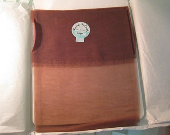1950s PINUP Stockings Sheer Brown 9 Round The Clock - 3 Available