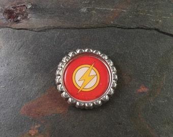 The Flash Bottle Cap Magnet