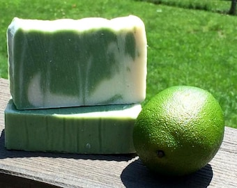 Tea Tree Lime - Delicious Natural and Organic Handmade Soap
