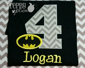 Bat Boy Batman Birthday Shirt