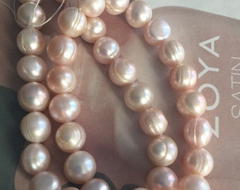 MEAVE Pearl, cultured freshwater, wedding supplies, pearls supplies, Ivory pearls ,PINK pearl, cream pearls (4299KX)
