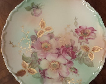 Arzberg Wild Rose Small Cake Stand / Candy Dish