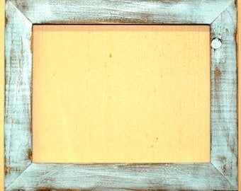 """1-1/2"""" Baby Blue Distressed Picture Frame"""