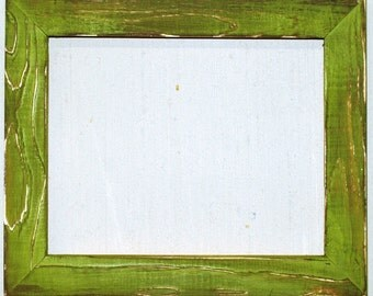 "1-1/2"" Green Apple Distressed Picture Frame"