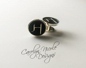 Custom Cufflinks (Sterling Silver)
