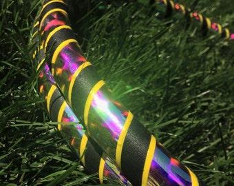 Black Opal Beginner Hula Hoop Infinity Collapsible Hoop