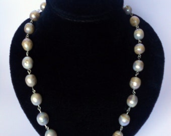 pearls jewellery   giant pearl necklace