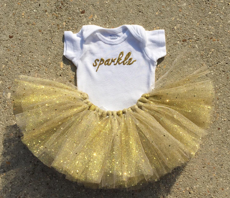 sparkly gold tutu outfit gold glitter tutu by lilyluandhazel