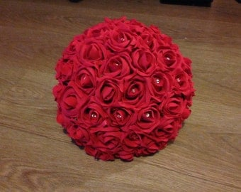 Artificial Wedding Flower Brides / Large Brides Bouquet - Many Colours!