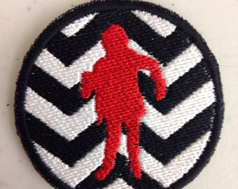 Twin Peaks Man From Another Place embroidered patch