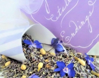 SOMETHING BLUE, Wedding Lavender, biodegradable confetti, ecofriendly wedding, dried lavender, wedding confetti, for fairy tale endings