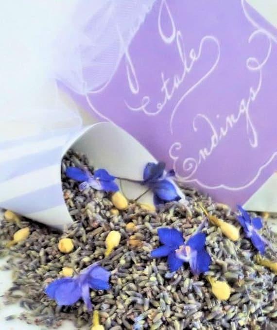 SOMETHING BLUE, Wedding Lavender, biodegradable confetti, ecofriendly wedding, dried lavender, wedding confetti, for fairy tale endings