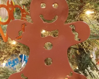 Gingerbread Man Ornament (Free Shipping)